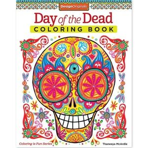 🖤Day of the Dead Coloring Book